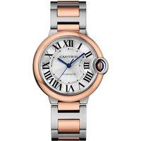 Ballon Bleu De Cartier Watch 36mm, Automatic Movement, Rose Gold, Steel