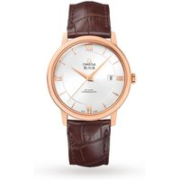 shop for De Ville Prestige Mens 40mm Automatic Co-Axial 18ct Rose Gold Mens Watch at Shopo