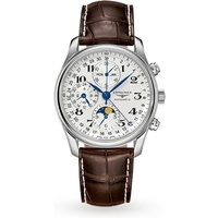 shop for Master Collection 40mm Chronograph With Moon Phase Mens Watch at Shopo
