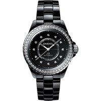 J12 Diamond Bezel Calibre 12.1 38mm Ladies Watch