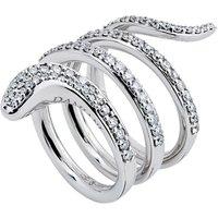 Eden 18ct White Gold 0.95cttw Diamond Ring - Ring Size N