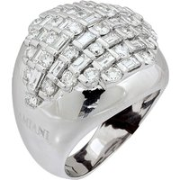 Bamboo 18ct White Gold 2.88cttw Diamond Ring - Ring Size M