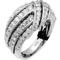 18ct White Gold 1.95cttw Diamond Ring - Ring Size O
