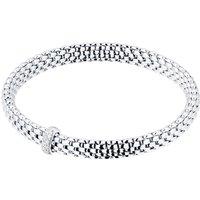 18ct White Gold Vendome FlexIt 0.10ct Diamond Bracelet