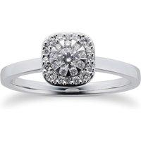 Masquerade 18ct White Gold 0.30cttw Diamond Ring