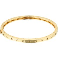 Symphony 18ct Yellow Gold Bangle With Round Design