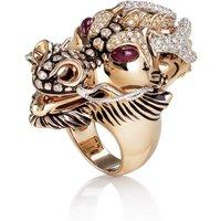 Animalier Dragon Diamond Ring - Ring Size Z