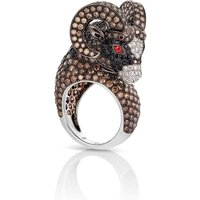 Animalier Aries Diamond Ring - Ring Size L.5