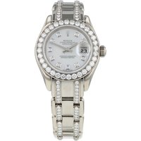 Pre-Owned Rolex Datejust Pearlmaster Ladies Watch 86289.