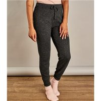 Womens Cashmere Merino Luxe Lounge Pants XL Dark Charcoal