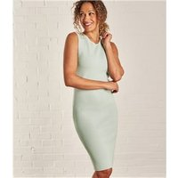 Womens Milano Sleeveless Dress S Soft Mint