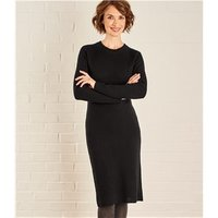Womens Milano Dress L Black
