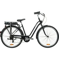 E-Bike City Bike 28 Elops 500E LF schwarz