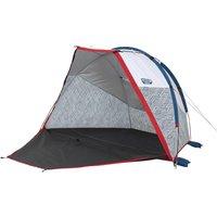 Schutzzelt mit Gestänge Compact Fresh für Camping und Wanderung 2 Personen