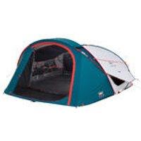 Quechua Pop up tent | 3 Persoons | Blauw/wit | 2 Seconds XL Fresh & Black kopen