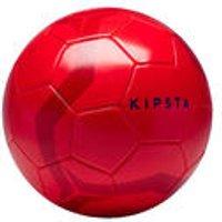 Kipsta Voetbal First Kick maat 5 (vanaf 12 jaar) rood kopen