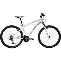 Mountainbike ST 100 27,5 Zoll Damen weiss/rosa