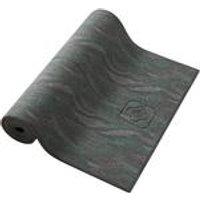 Domyos Yogamat Comfort voor zachte yoga 8 mm print grijs kopen