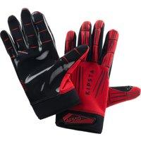 Handschuhe American Football AF550GR Erwachsene rot