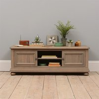 Hadley Smoked Oak Large TV Cabinet up to 65''