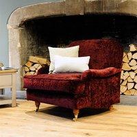 Bampton Armchair - Crushed Velvet
