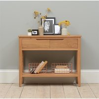 Campbell Oak Console Table