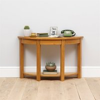 Oakland Large Demi Lune Console Table
