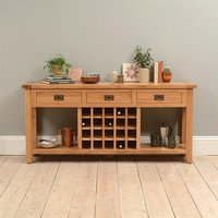 Montague Extra Large Wine Console