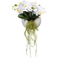 Orchidee in Wandhänger Globen Lighting Weiß
