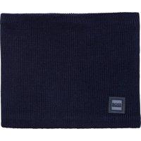 Fleece-lined knitted snood BOSS KID BOY