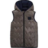 Reversible waterproof puffer jacket BOSS KID BOY