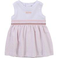 Sleeveless jersey dress BOSS NEWBORN GIRL