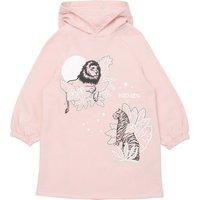 Brushed fleece sweatshirt dress KENZO KIDS KID GIRL