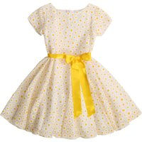 Belted dress with print CHARABIA KID GIRL