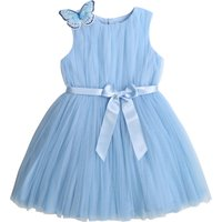 Belted tulle dress CHARABIA KID GIRL