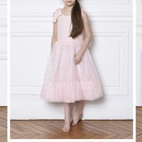 Tulle dress with straps CHARABIA KID GIRL