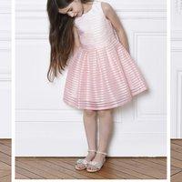 Striped sleeveless dress CHARABIA KID GIRL