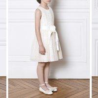 Sleeveless tulle dress CHARABIA KID GIRL