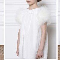 Dotted swiss formal dress CHARABIA KID GIRL