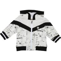 Printed hooded cardigan TIMBERLAND INFANT BOY