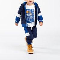 Hooded jogging cardigan TIMBERLAND INFANT BOY