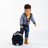 Hooded knit cardigan TIMBERLAND INFANT BOY