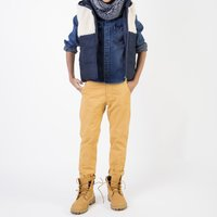 Marled knit neck warmer TIMBERLAND KID BOY