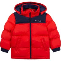 Hooded waterproof parka TIMBERLAND KID BOY