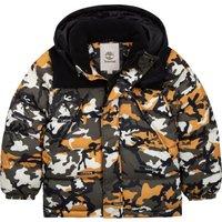 Waterproof hooded puffer jacket TIMBERLAND KID BOY