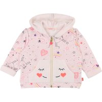 Fleece hooded cardigan BILLIEBLUSH INFANT GIRL
