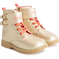 Shiny lace and zip ankle boots BILLIEBLUSH INFANT GIRL