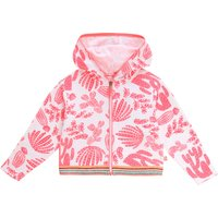 Hooded terrycloth cardigan BILLIEBLUSH KID GIRL