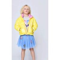 Short puffer jacket with stand-up collar BILLIEBLUSH KID GIRL