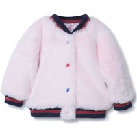 Faux fur bomber jacket THE MARC JACOBS INFANT GIRL